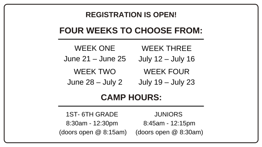 Summer Camp Hours